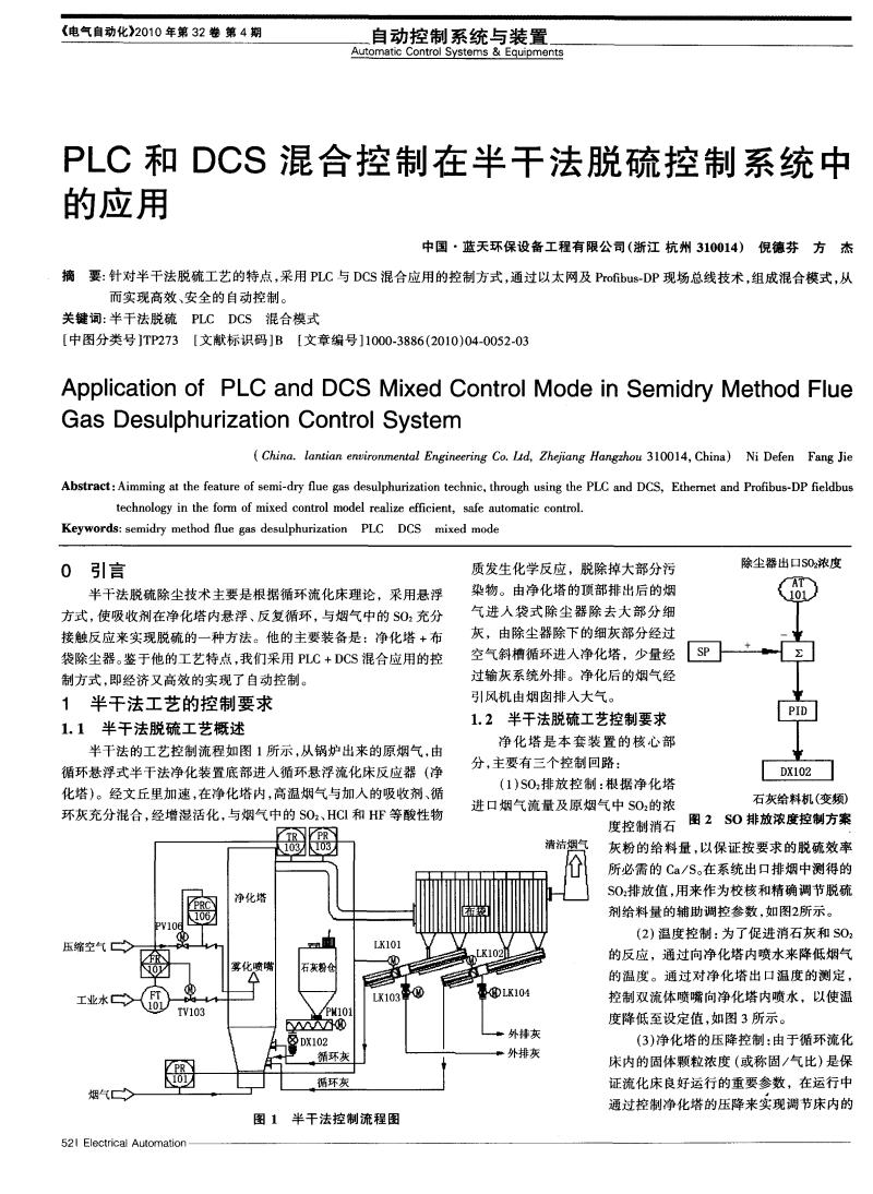 最大传控制模型和设定的工艺参数自动启停设备,自动切换设备的交替