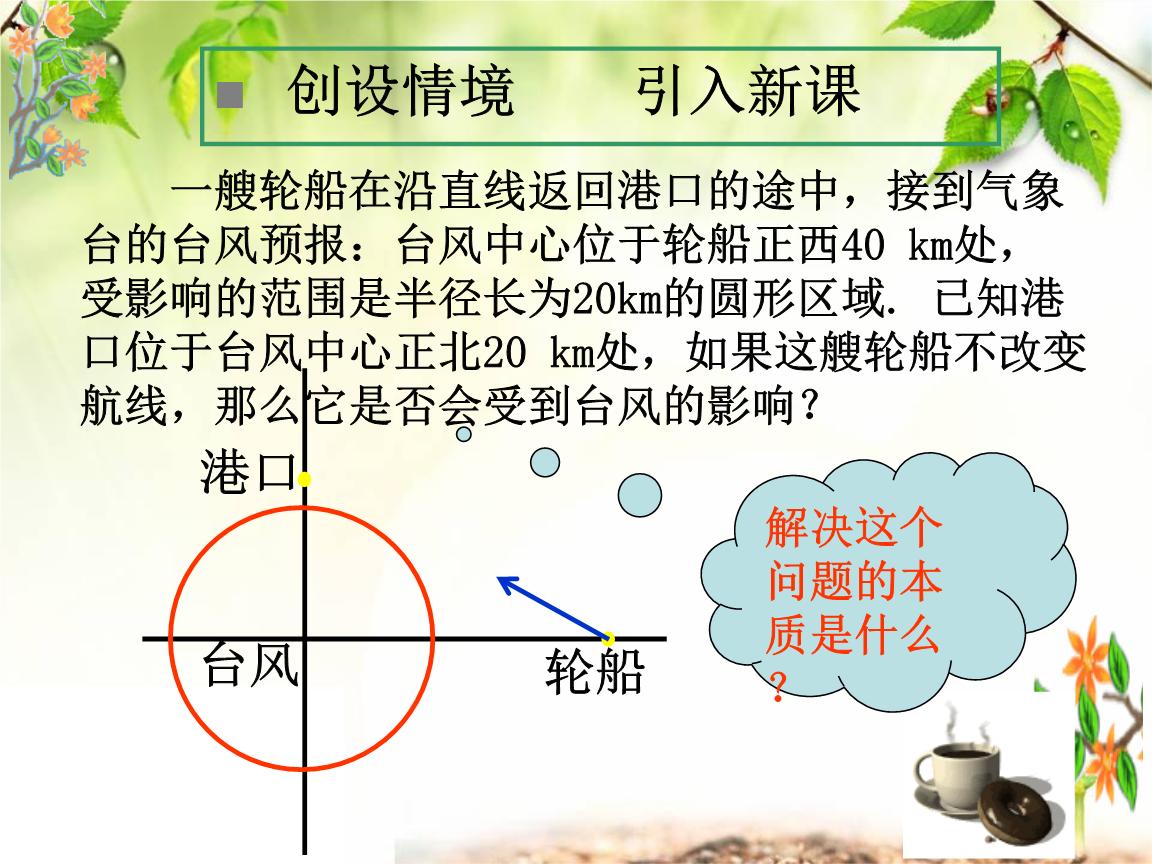 """1""""直线与圆的位置关系"""