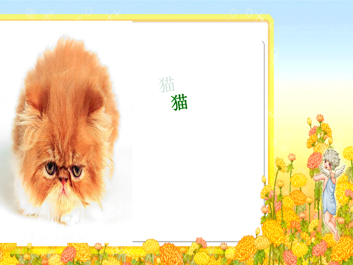 小学语文课件–猫.ppt图片
