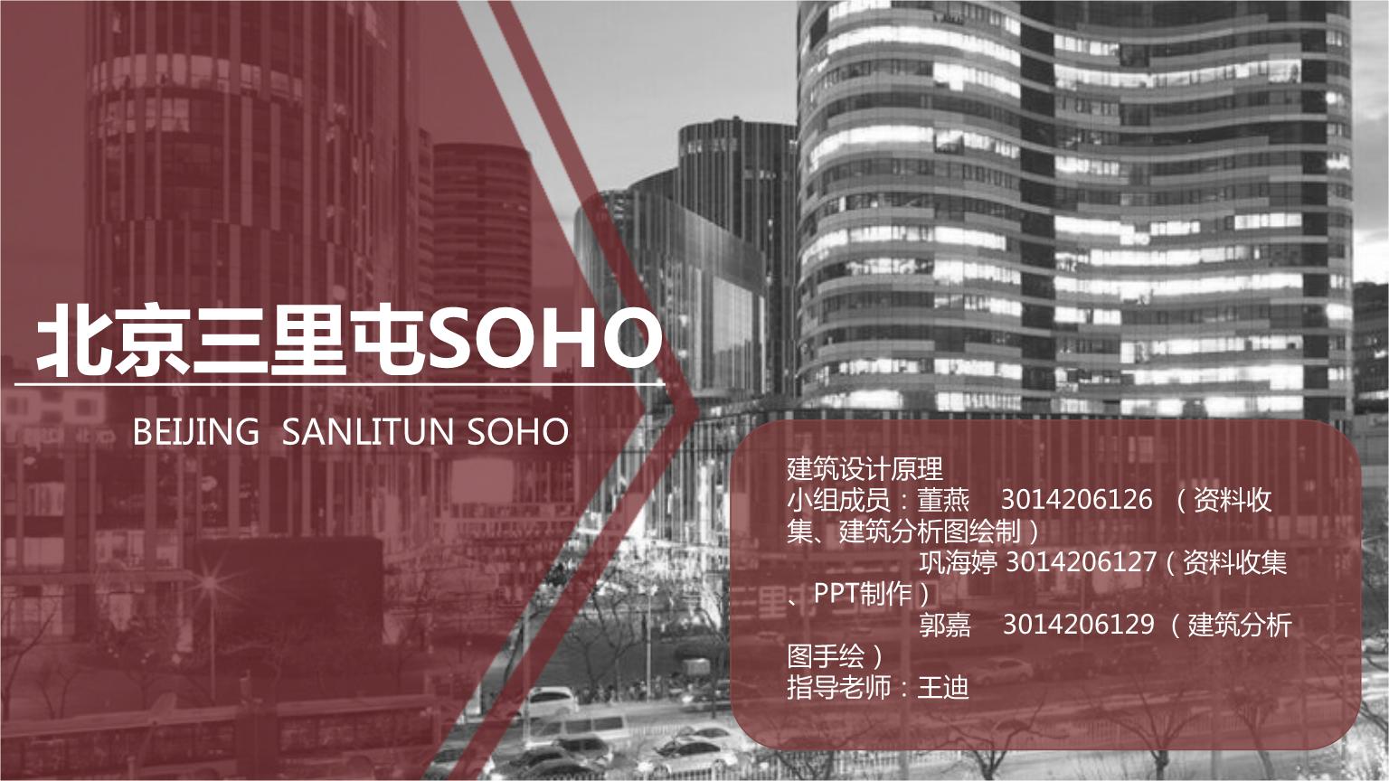 三里屯SOHO分析选编.pptx
