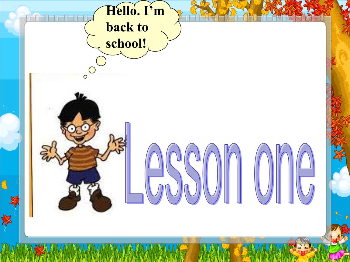 八年级英语课件lesson1limingisacktoschool