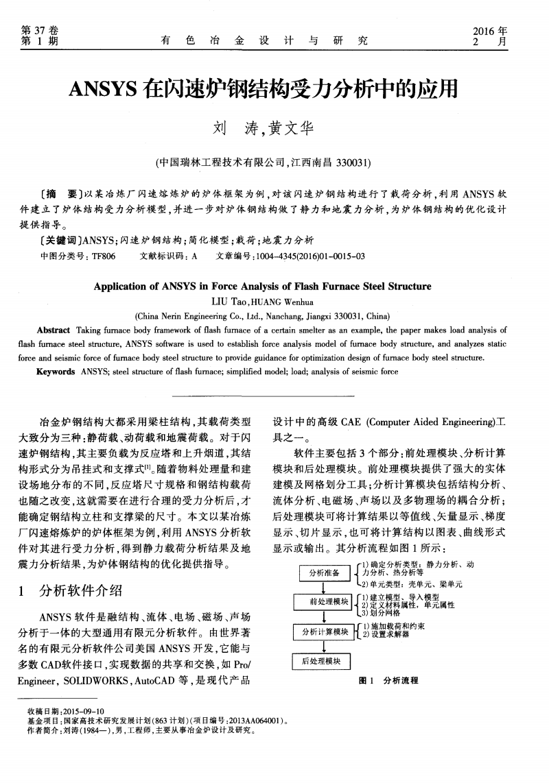ansys在闪速炉钢结构受力分析中的应用.pdf