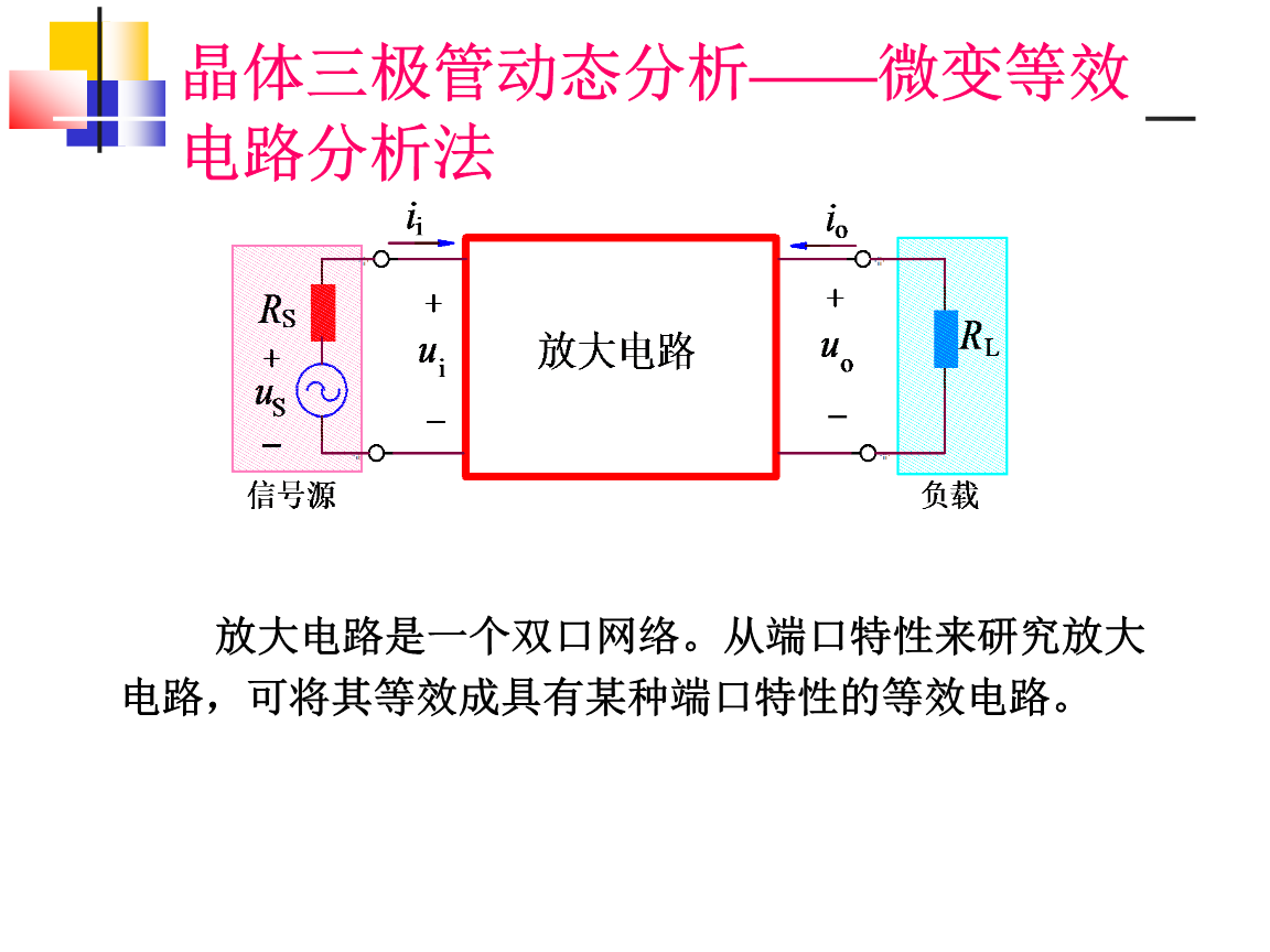 射极跟随器*ri显著增大,所以共集电极电路的具有高输入电阻的特性uiri