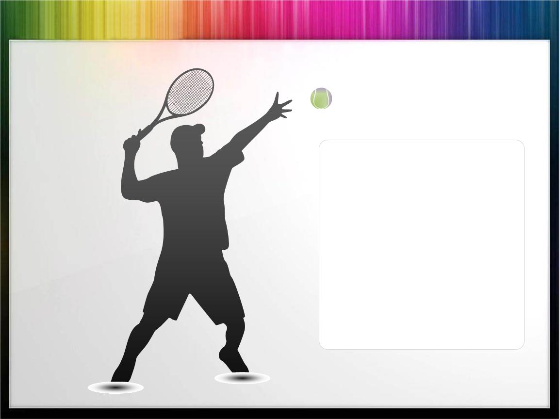 体育运动主题背景素材模板.ppt