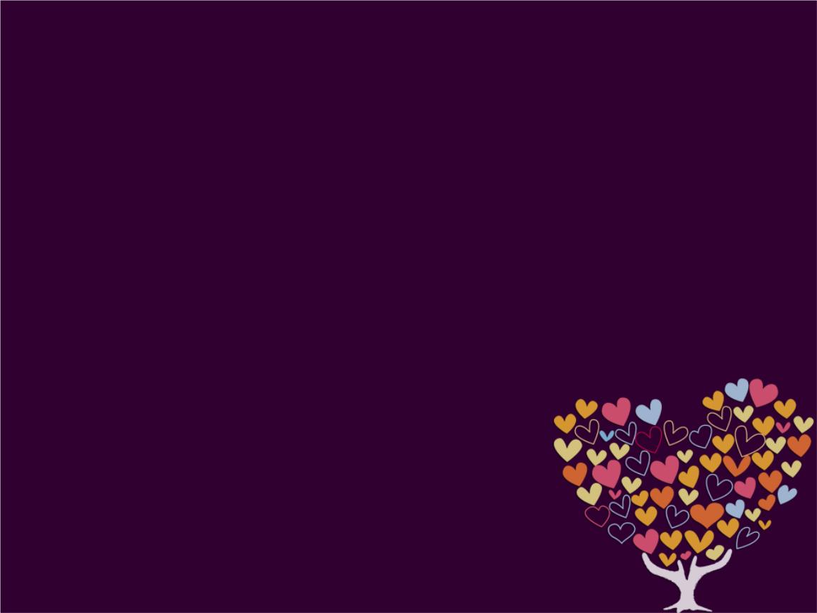 女性时尚爱心树主题背景素材模板.ppt