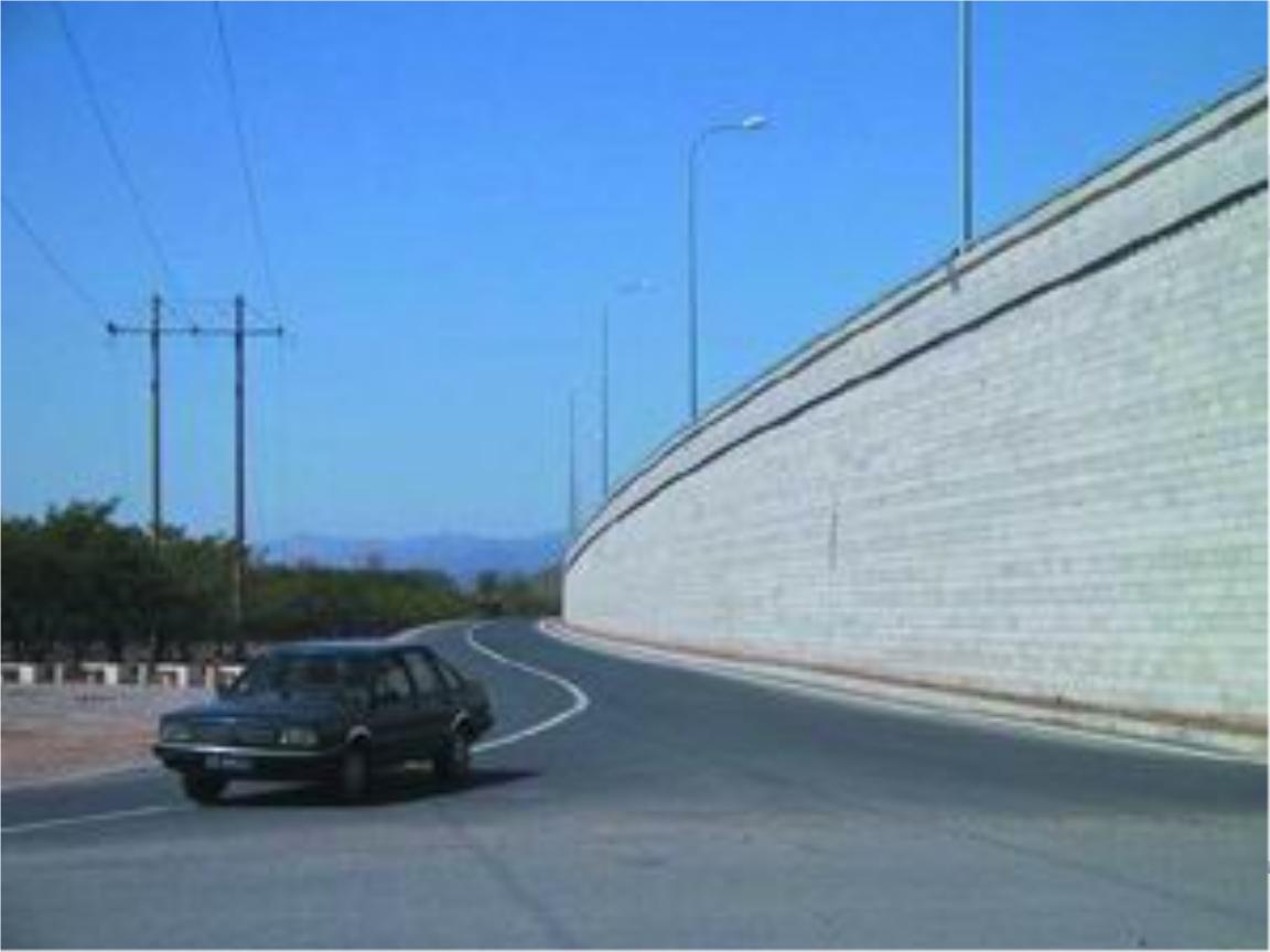 b,e多用于路肩墙,路堤墙;c,d多用于路堑墙a重力式挡土墙1.