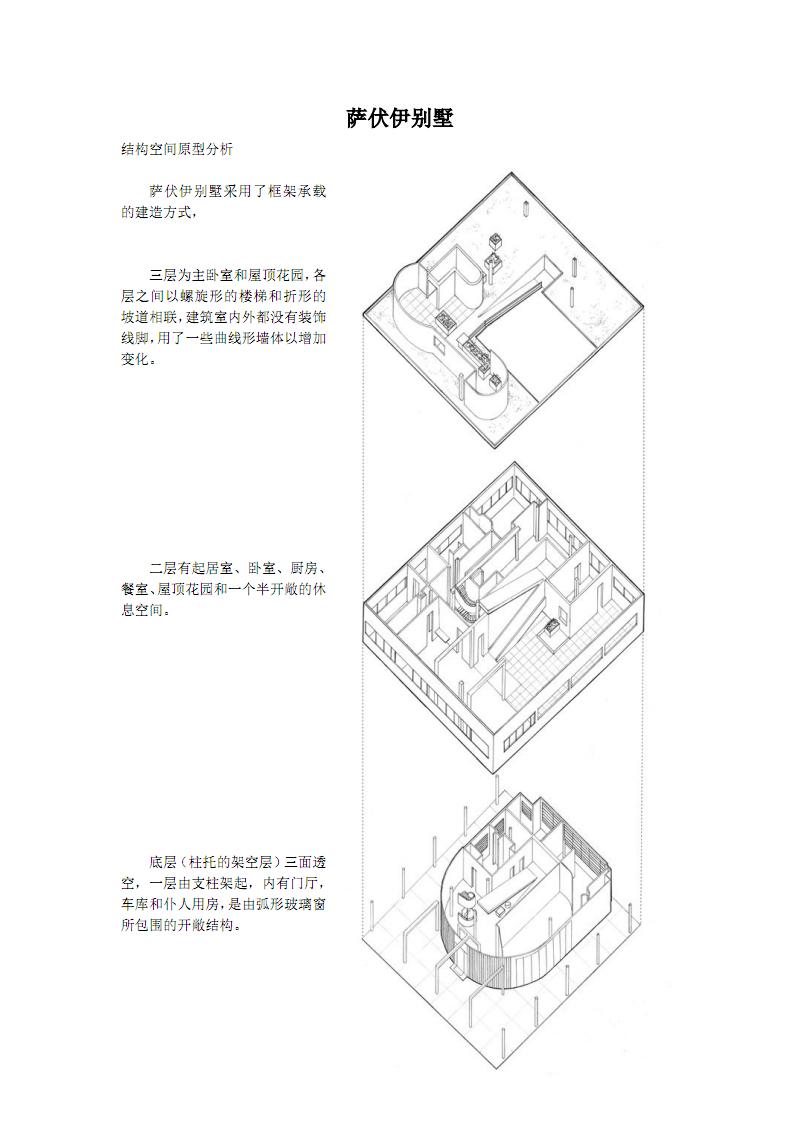 萨伏伊结构租金v结构.pdf别墅北别墅山竿青浦图片