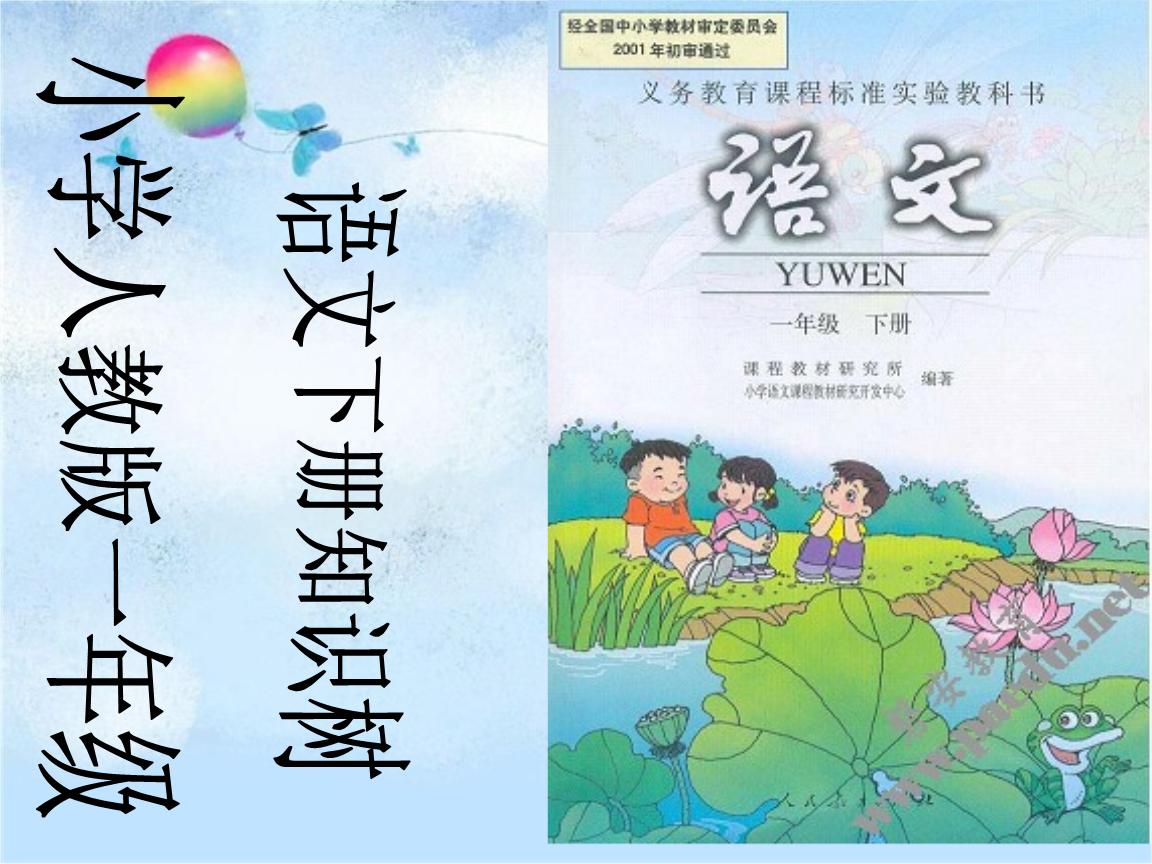 小学人教版 一年级语文 全册单元知识树 教材分析.ppt图片
