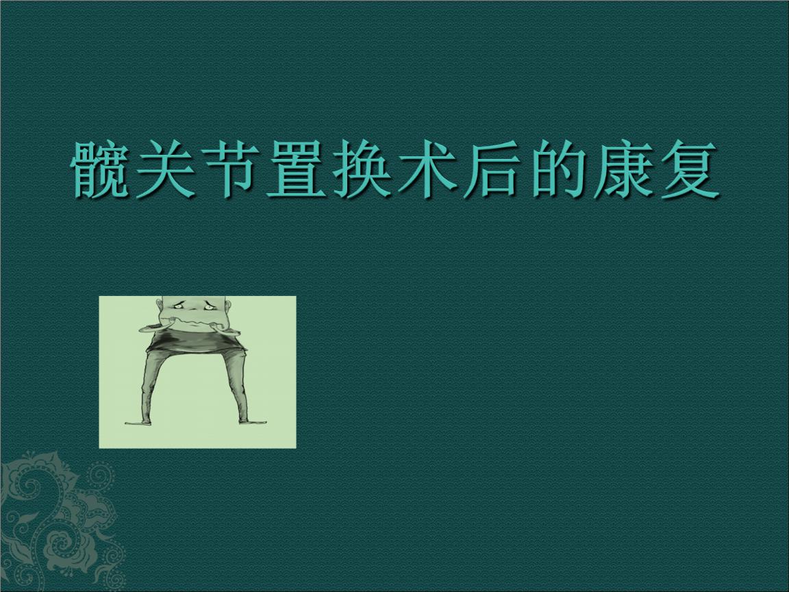 髋关节置换术后康复摘要.ppt