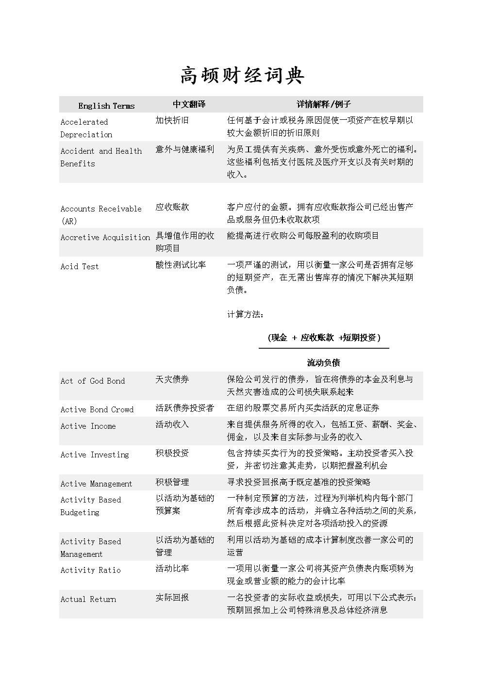 2016年高盛英汉视频财经.doc词典径机缩图片